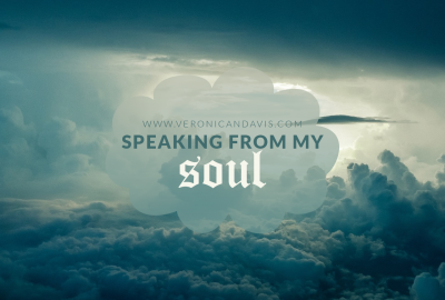 Speaking From My Soul - A blog entry by Veronica N. Davis featuring a sky photo edit