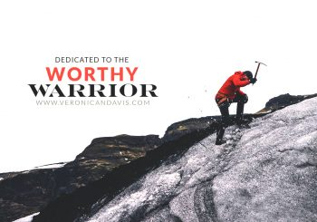 Worthy Warrior Entry Featuring A Person Mountain Climbing