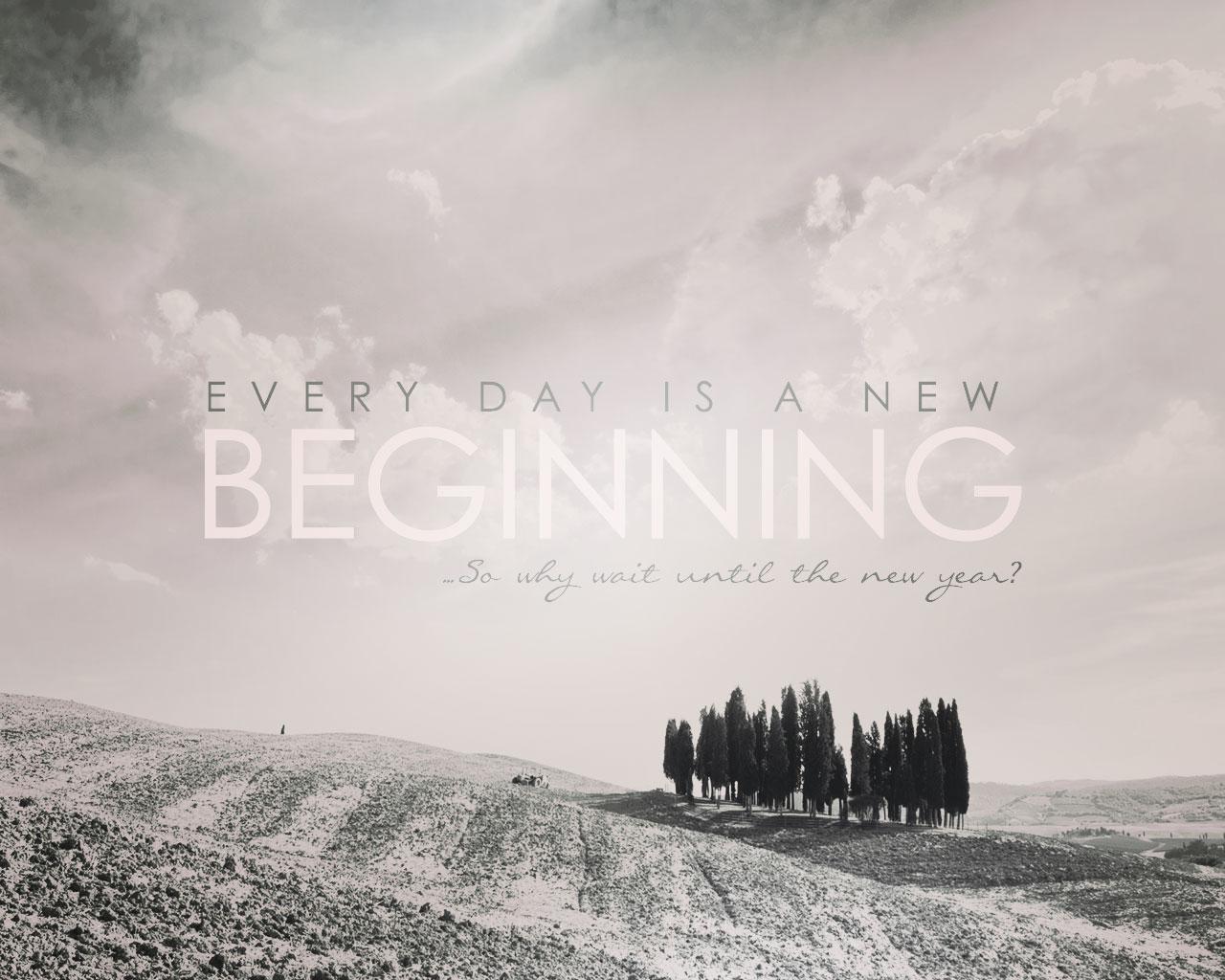 Begin Again…Today