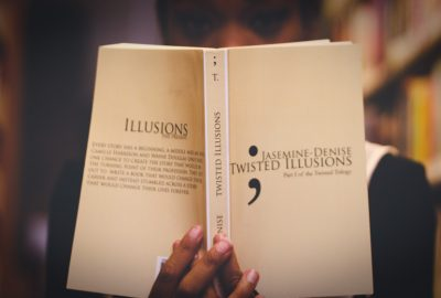 The Book Twisted Illusions, Written By Jasemine Denise