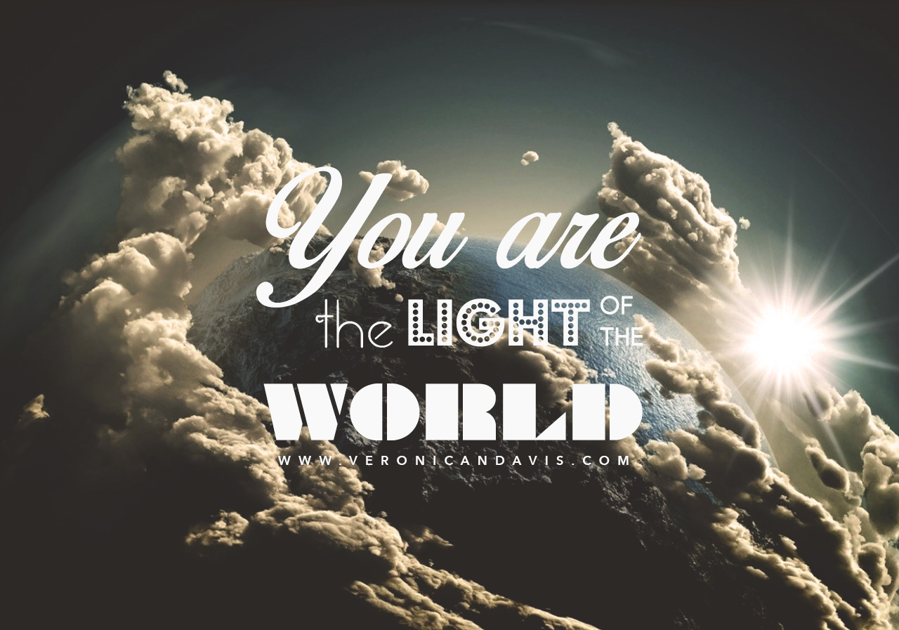 "Blog Graphic for ""You Are the Light of the World"""