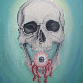 Skull + Eye at www.veronicandavis.com