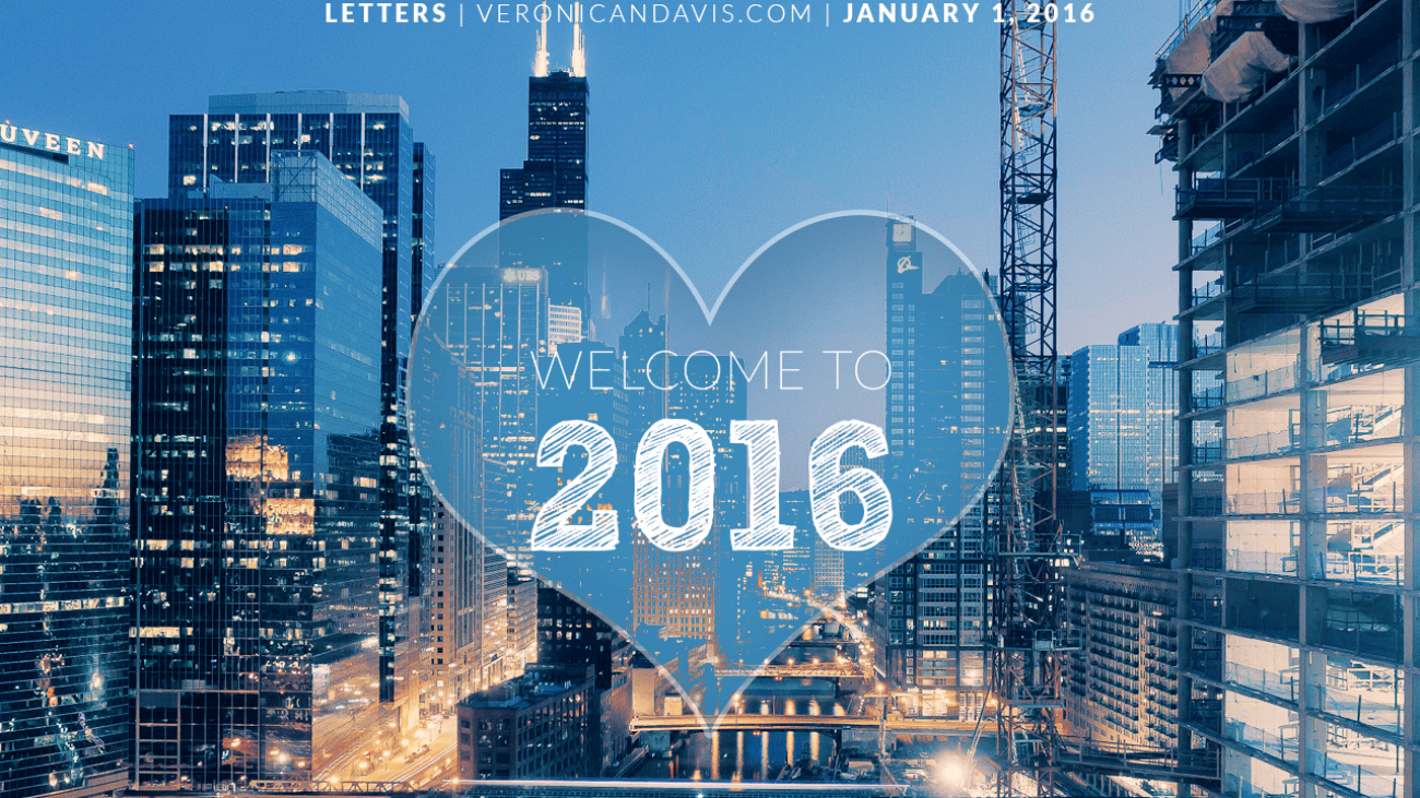 Happy New Year 2016 From Veronica N. Davis
