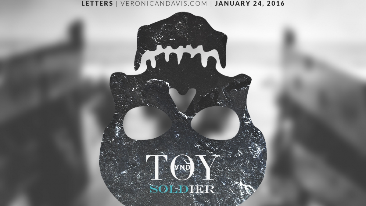 Graphic Design Artwork By Author Veronica N. Davis For Toy Soldier Blog