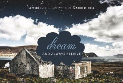 Dream Blog Entry From Veronica N. Davis.