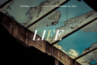 Our expression of life - Veronica N. Davis Blog Entry