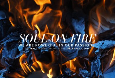 Soul On Fire   A Blog Entry by Veronica N. Davis