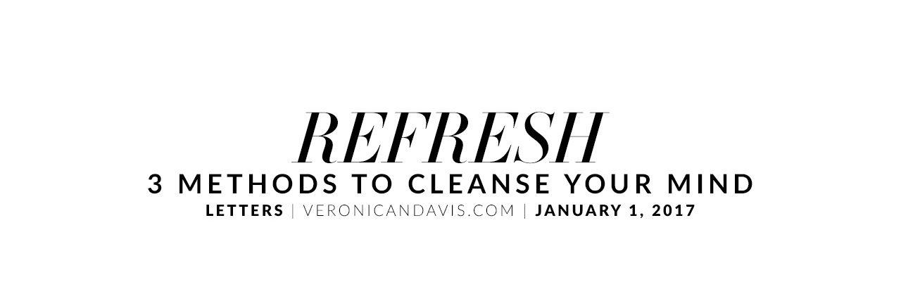 Refresh - A Blog Entry by Veronica N. Davis