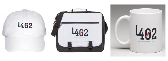 Local 402 Logo & Promo Items