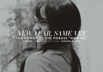 New Year, Same Me (Vee) - A Blog Entry by Veronica N. Davis