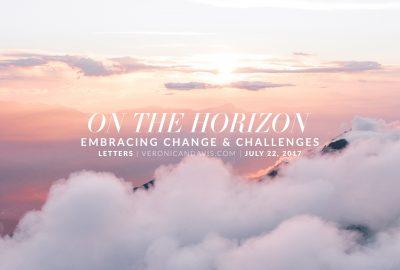 On The Horizon - A Blog Entry by Veronica N. Davis