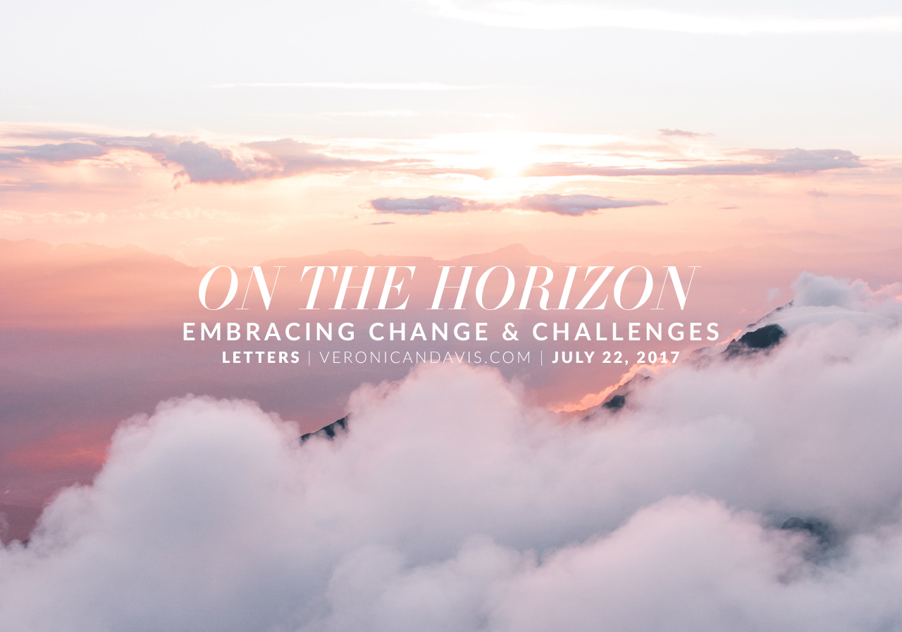 On The Horizon - A Blog Entry by Veronica N. Davis