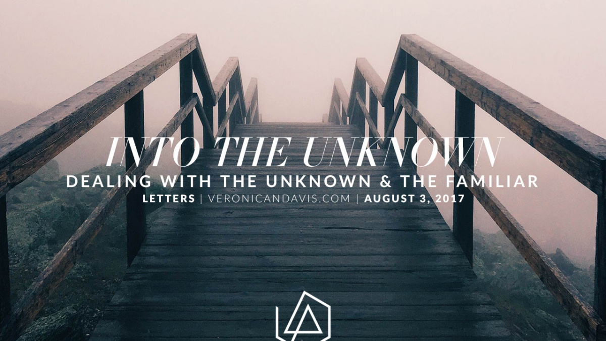 Into the Unknown - A Veronica N. Davis Blog Entry - Linkin Park Chester Bennington Farewell
